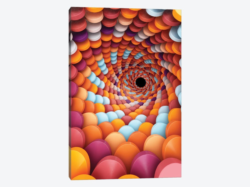 Spiral Focus by Danny Ivan 1-piece Canvas Art Print