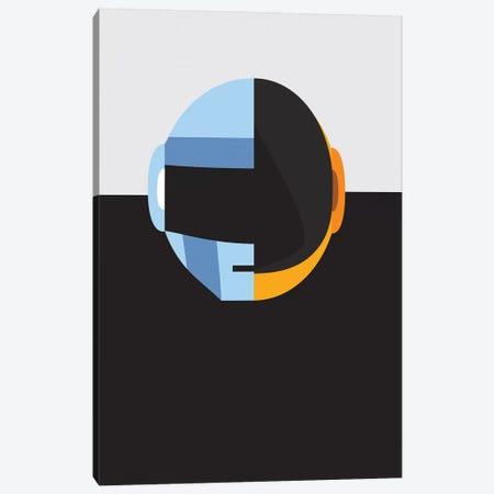 Daftpunk Merge Canvas Print #DIV4} by Danny Ivan Canvas Print