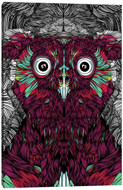 Owl You Need Is Love Canvas Art Print