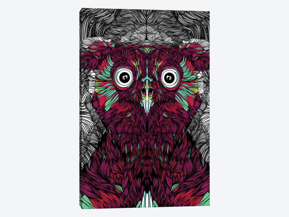 Owl You Need Is Love by Danny Ivan 1-piece Canvas Print