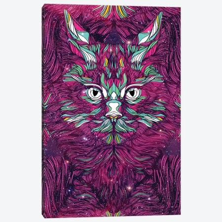 Space Cat Canvas Print #DIV7} by Danny Ivan Art Print