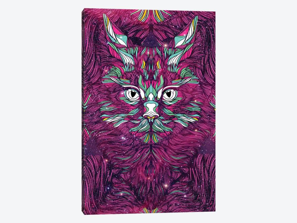 Space Cat by Danny Ivan 1-piece Canvas Artwork