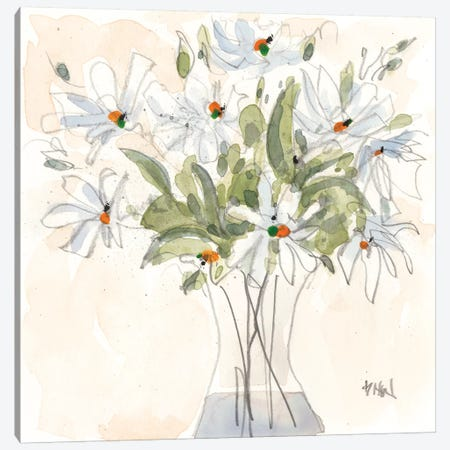 Daisy Just Because I 3-Piece Canvas #DIX100} by Samuel Dixon Canvas Print