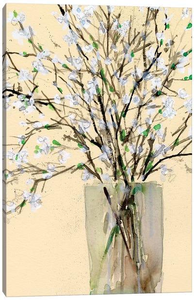 Spring Floral Arrangement II Canvas Art Print
