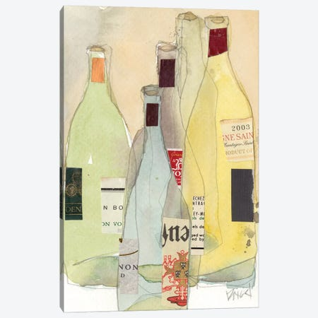 Wines & Spirits I Canvas Print #DIX104} by Samuel Dixon Canvas Art