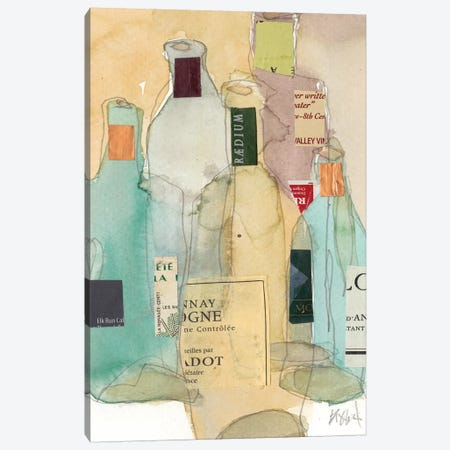 Wines & Spirits II Canvas Print #DIX105} by Samuel Dixon Canvas Wall Art