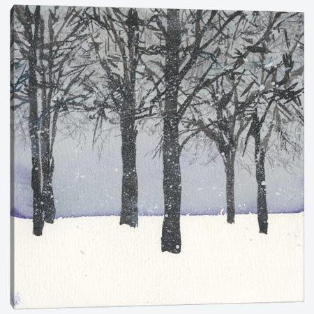 Forest Sketch I Canvas Print #DIX10} by Samuel Dixon Canvas Artwork