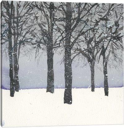 Forest Sketch I Canvas Art Print