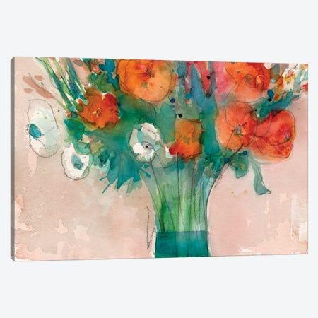 Abundant Bouquet II Canvas Print #DIX117} by Samuel Dixon Art Print