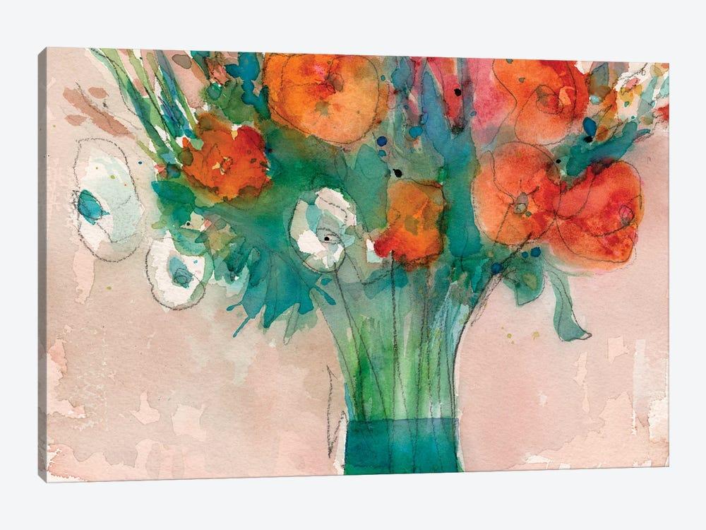 Abundant Bouquet II by Samuel Dixon 1-piece Canvas Wall Art