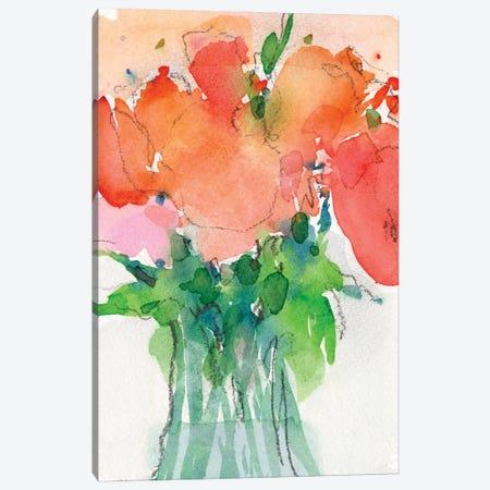 Cheerful Bouquet II 3-Piece Canvas #DIX119} by Samuel Dixon Canvas Artwork