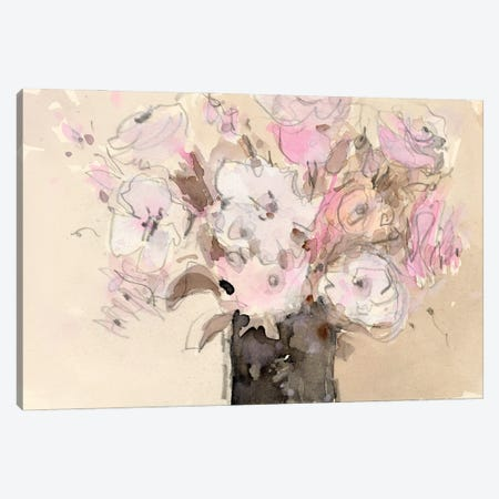 Mauve Arrangement I Canvas Print #DIX122} by Samuel Dixon Canvas Print