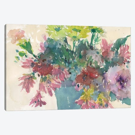 Assorted Summer Planter I Canvas Print #DIX128} by Samuel Dixon Canvas Print