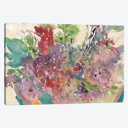 Assorted Summer Planter II Canvas Print #DIX129} by Samuel Dixon Art Print