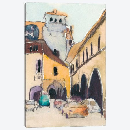 Venice Plein Air I Canvas Print #DIX12} by Samuel Dixon Canvas Artwork