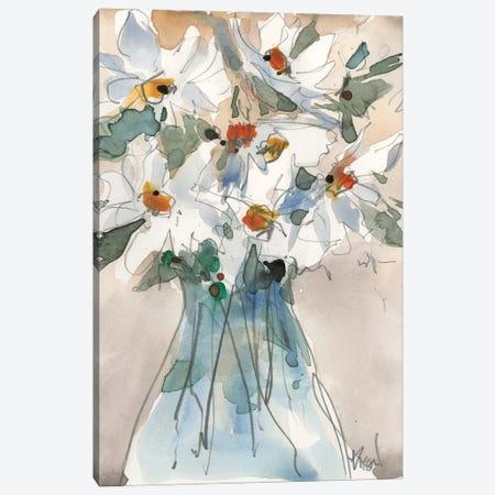 Daisy Point of View II Canvas Print #DIX131} by Samuel Dixon Canvas Art