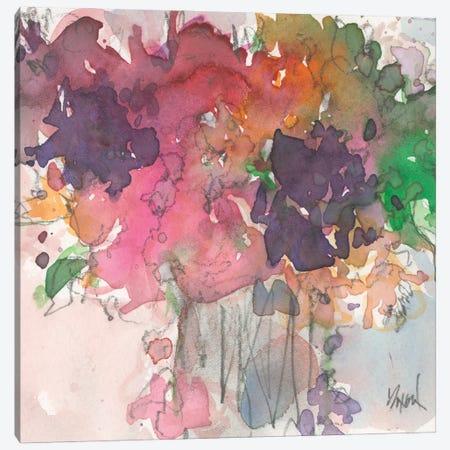 Floral Charm I Canvas Print #DIX134} by Samuel Dixon Canvas Art Print