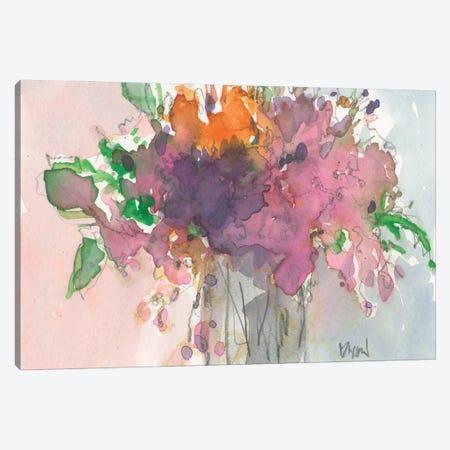 Floral Charm II Canvas Print #DIX135} by Samuel Dixon Art Print