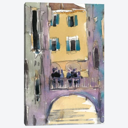 Venice Plein Air II Canvas Print #DIX13} by Samuel Dixon Canvas Wall Art