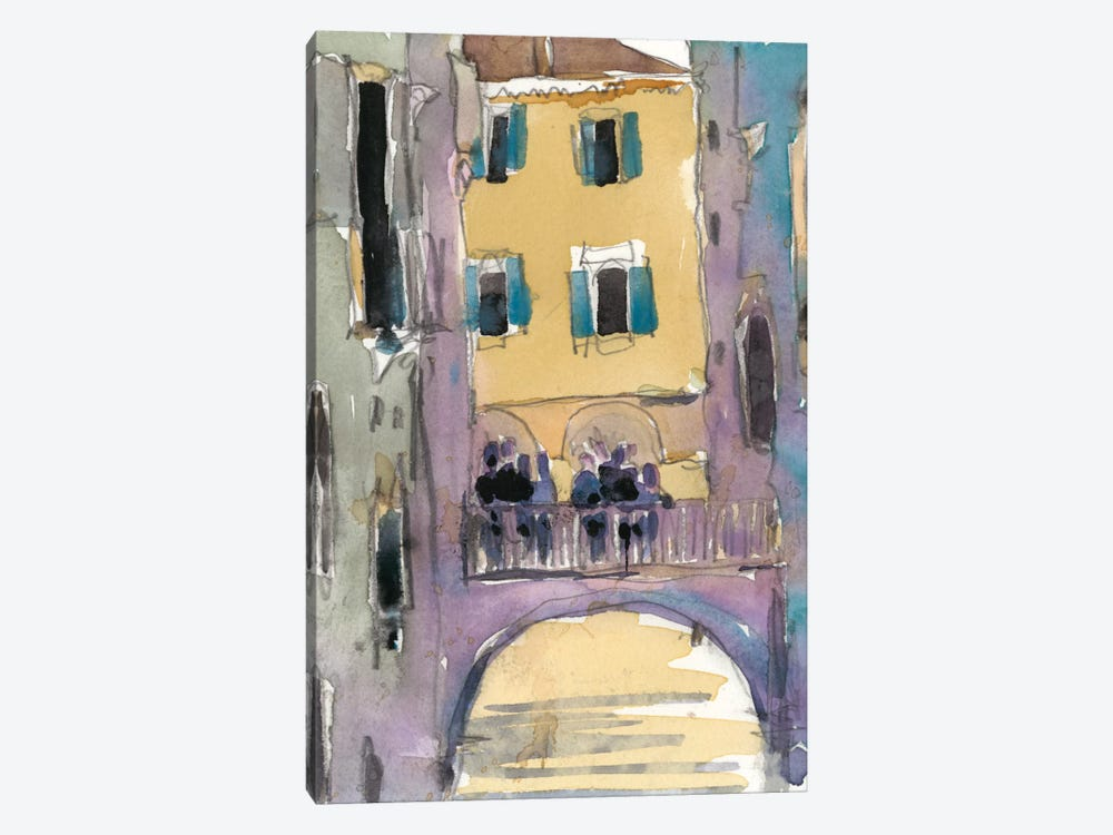 Venice Plein Air II by Samuel Dixon 1-piece Canvas Art