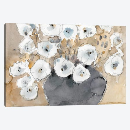 Another White Blossom I Canvas Print #DIX147} by Samuel Dixon Canvas Artwork