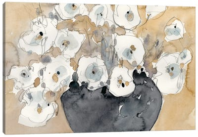 Another White Blossom II Canvas Art Print
