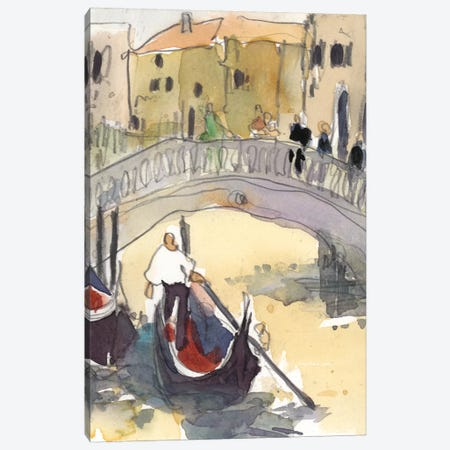Venice Plein Air III Canvas Print #DIX14} by Samuel Dixon Canvas Art Print