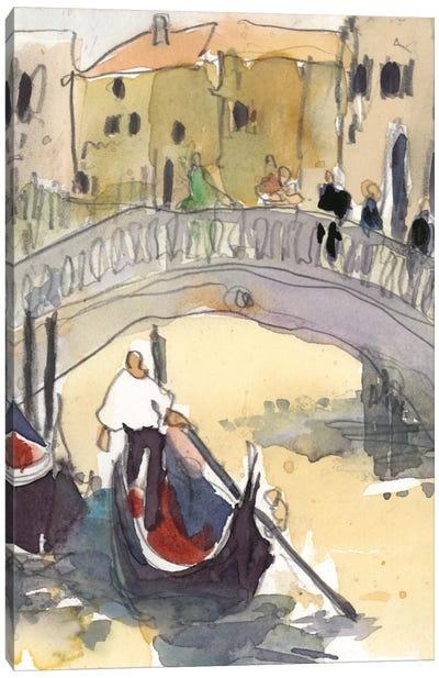 Venice Plein Air III Canvas Art Print