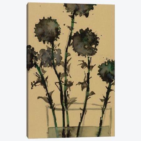 Dry Stems I Canvas Print #DIX151} by Samuel Dixon Canvas Artwork