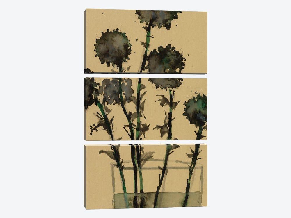 Dry Stems I by Samuel Dixon 3-piece Canvas Art