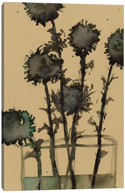 Dry Stems II Canvas Art Print