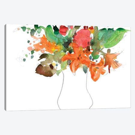 Expressive Bouquet I Canvas Print #DIX153} by Samuel Dixon Canvas Art