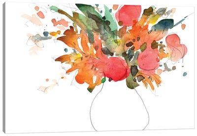 Expressive Bouquet II Canvas Art Print