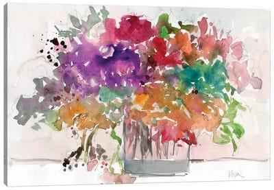 Mix Flowers I Canvas Art Print