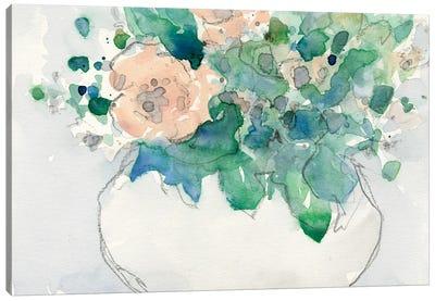 Pastel Arrangement I Canvas Art Print