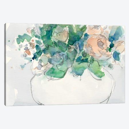 Pastel Arrangement II Canvas Print #DIX158} by Samuel Dixon Canvas Artwork