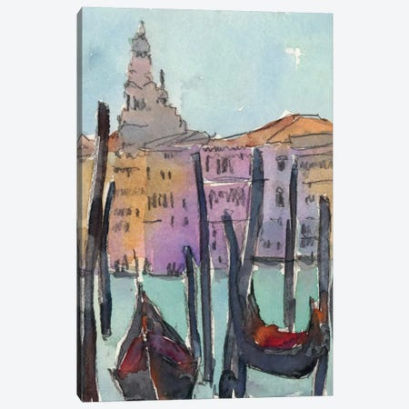 Venice Plein Air IV Canvas Print #DIX15} by Samuel Dixon Art Print