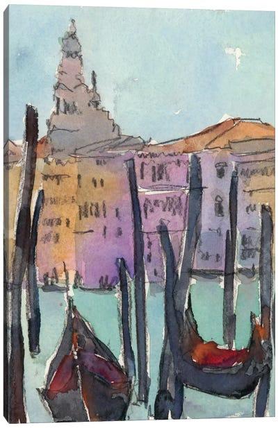 Venice Plein Air IV Canvas Art Print