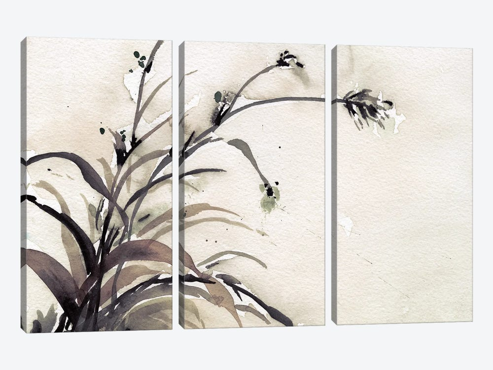 Plant of the Age II by Samuel Dixon 3-piece Canvas Wall Art