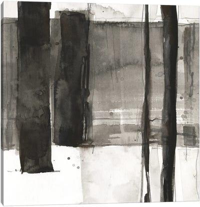 Double Row Piling II Canvas Art Print