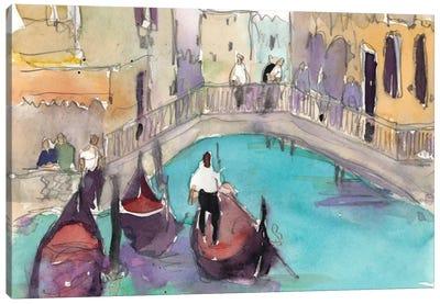 Venice Plein Air V Canvas Art Print