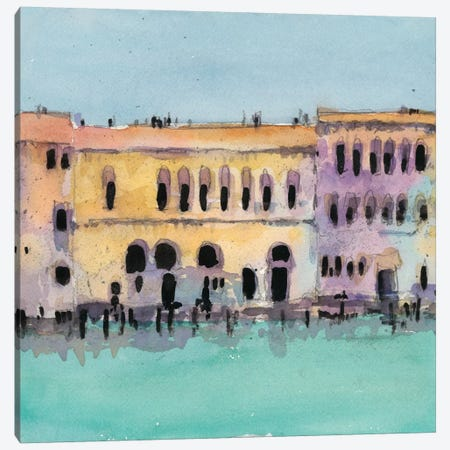 Venice Plein Air VI Canvas Print #DIX17} by Samuel Dixon Canvas Print