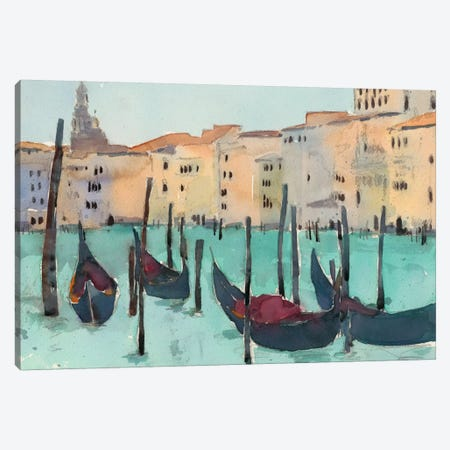 Venice Plein Air VII Canvas Print #DIX18} by Samuel Dixon Canvas Art