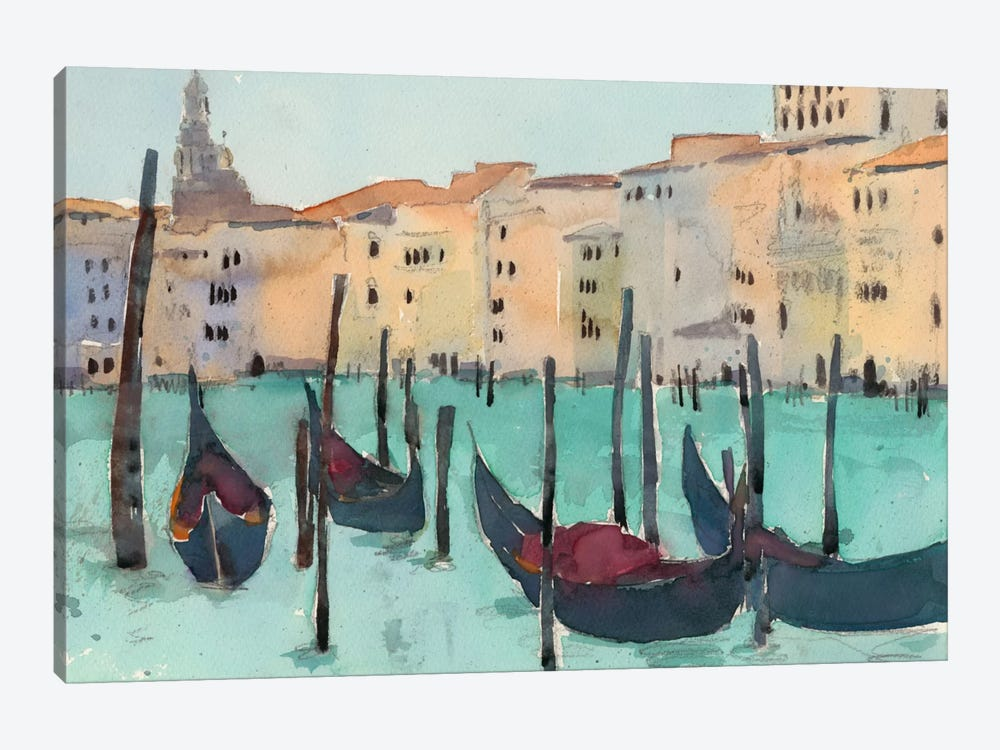Venice Plein Air VII by Samuel Dixon 1-piece Canvas Print
