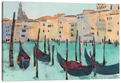 Venice Plein Air VII Canvas Art Print
