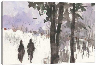 Woodland Sketch I Canvas Art Print