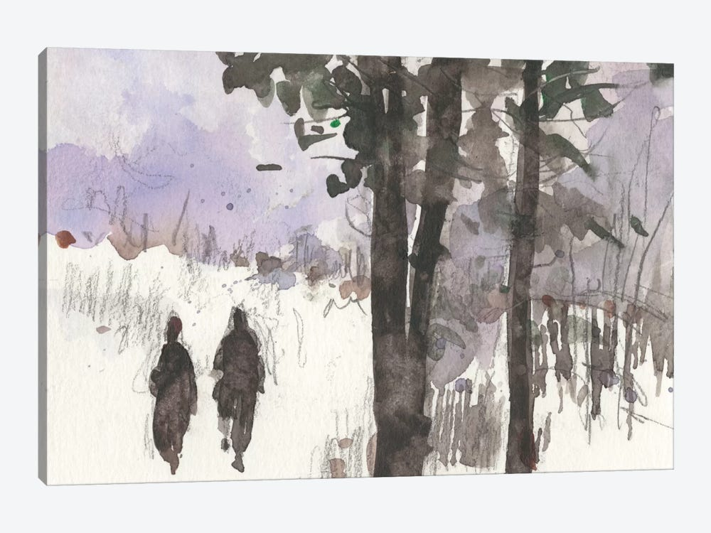 Woodland Sketch I by Samuel Dixon 1-piece Canvas Art