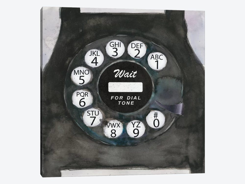 Phoning I by Samuel Dixon 1-piece Art Print