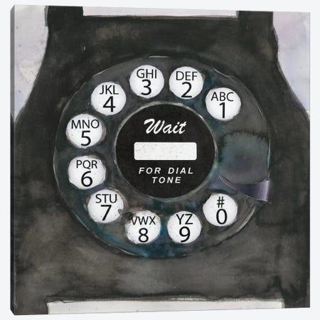 Phoning I Canvas Print #DIX23} by Samuel Dixon Art Print