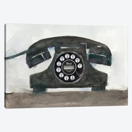Phoning II Canvas Print #DIX24} by Samuel Dixon Canvas Artwork